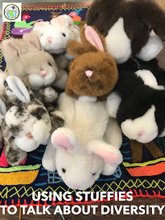 Using Stuffies to talk about diversity & race