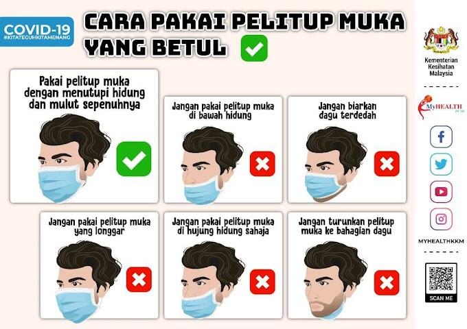 Cara Pakai Mask yang Betul