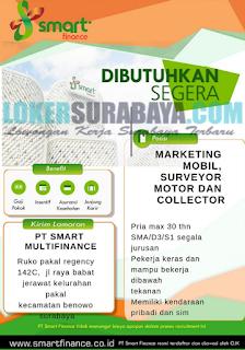 Lowongan Kerja di PT. Smart Multifinance Surabaya Terbaru Mei 2019