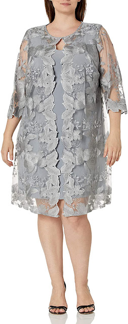 Elegant Plus Size Mother of The Bride Dresses With Jackets