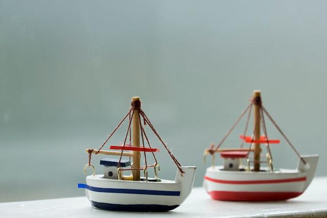Modellini di barca