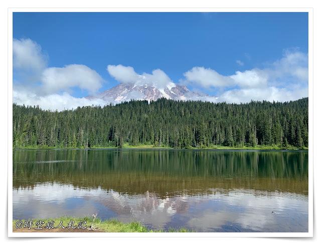 Mt Rainier Ohanapecosh area mirror lake