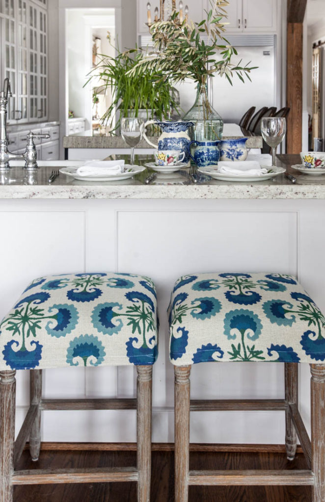 Stool Slipcover Feature and Creativity Unleashed Link Party #212