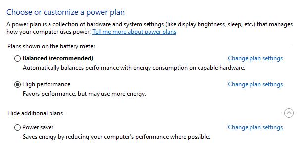 Cara Mengatasi Disk Usage 100% di Windows 10 - Ganti Power Plan