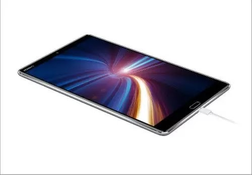 Huawei MediaPad M5 Android Tablet top audio
