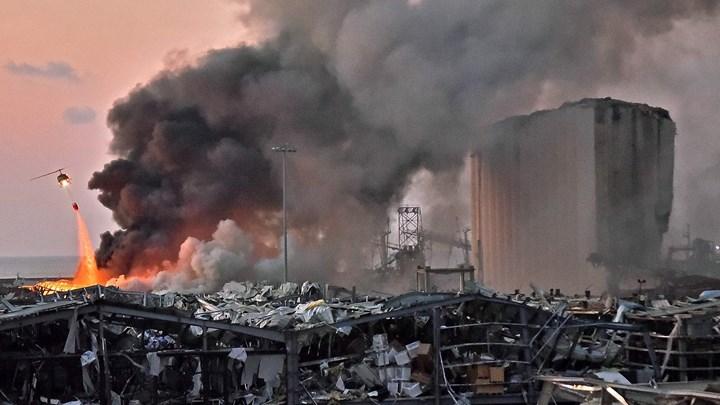 Σοκάρουν οι εικόνες από τη Βηρυτό - Πάνω από 100 οι νεκροί