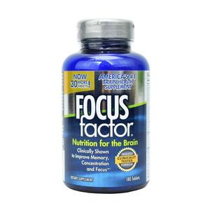 Viên uống Focus Factor bổ não tăng cường trí nhớ giảm stress của Mỹ