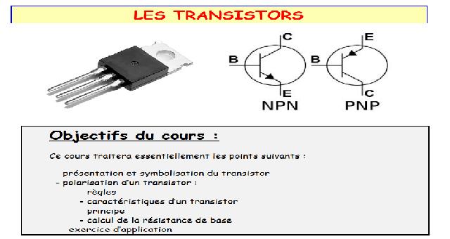 Les Transistors Cours Électromécanique des Systèmes Automatisées-ESA-OFPPT-PDF