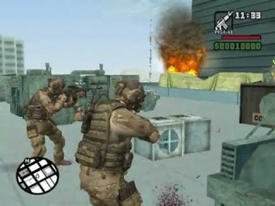 GTA San Andreas Call Of Duty Mod Download