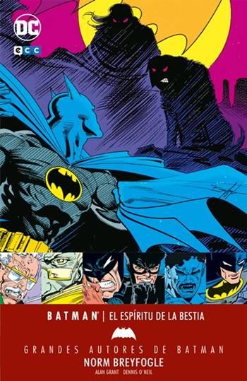 Batman fue dibujado por Norm Breyfogle