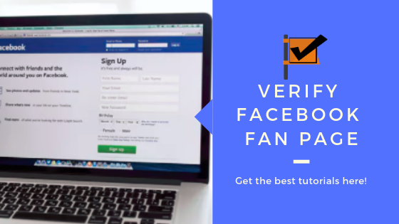 Verified Page Facebook<br/>