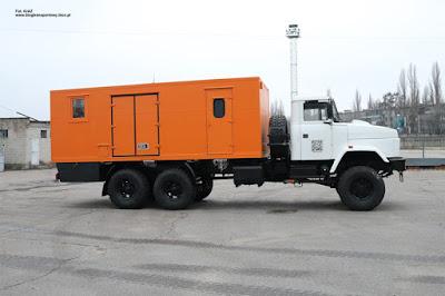 KrAZ 63221 mobilny warsztat