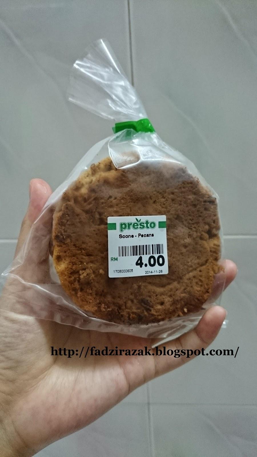 Scone Pecan Supermarket Presto