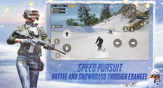 Best Patch Notes 0.16.0 New Update in PUBG Mobile New Snow , Angry birds Lifts Amazing Update