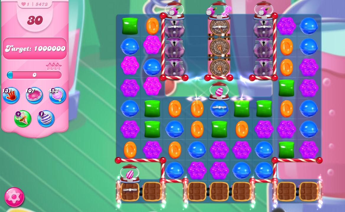 Candy Crush Saga level 5473