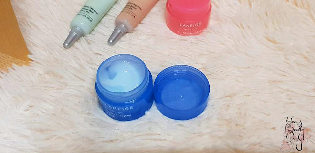 Monthly Project; #15 LANEIGE Mini Product Review; Water Sleeping Mask