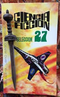 Portada del libro Ciencia ficción selección 27, de varios autores