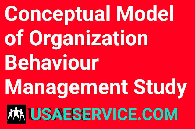 Conceptual Model of Organization Behaviour Management
