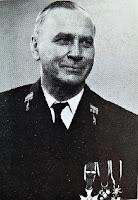 Dr Wacław Iwanowski w randze pułkownika kolei