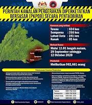 PKPDB Di Lahad Datu, Tawau, Kunak & Semporna Bermula 29.09.2020