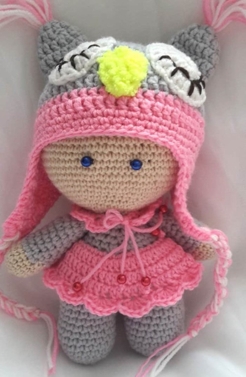 Baby Knitting Patterns Amigurumi Rose Doll Free Pattern ... | 765x500