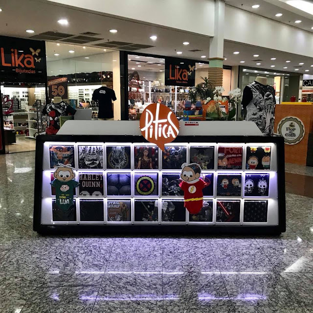 Quiosque Piticas foi inaugurado no North Shopping Barretos