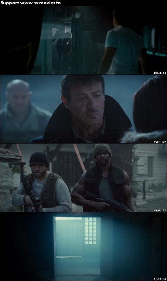 The Expendables 2 (2012) Dual Audio Hindi 480p BluRay 300mb