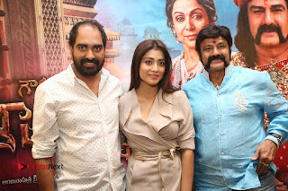 Shriya Saran Nandamuri Balakrishna at Gautamiputra Satakarni Team Press Meet Stills  0217.JPG