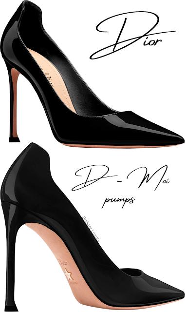 Black Dior D-Moi pumps #brilliantluxury