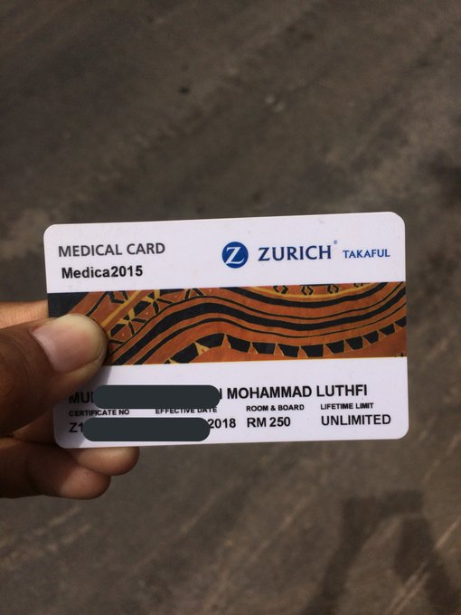 life takaful vs medical card