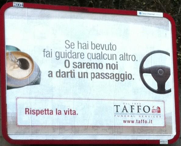 Perche' l'hai scritto?: Un passaggio da Taffo