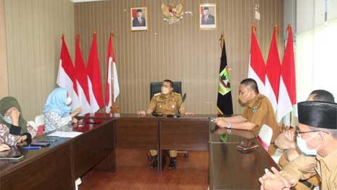 Audy Joinaldy terima kunjungan Kepala Perwakilan Ombudsman Sumbar