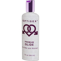 OptiSex Premium Water Based Intimate Lubricant for Men and Women