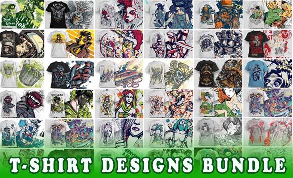 50 Vector Shirt Designs Collection