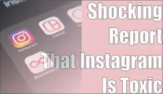 'Self-killing' Teenage Girls! Shocking Report That Instagram Is Toxic