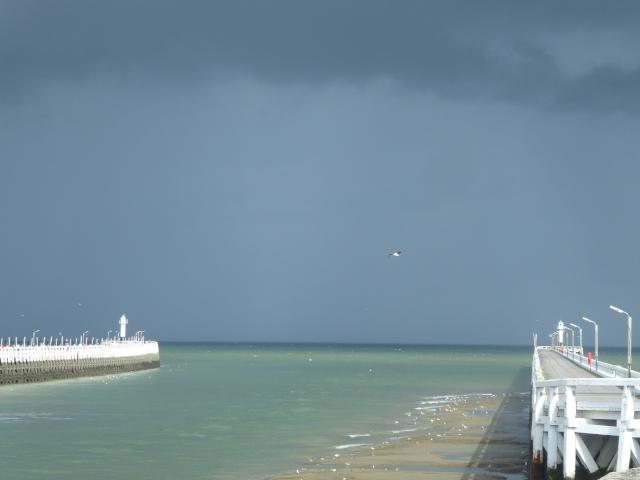 Nieuwpoort a punt de ploure
