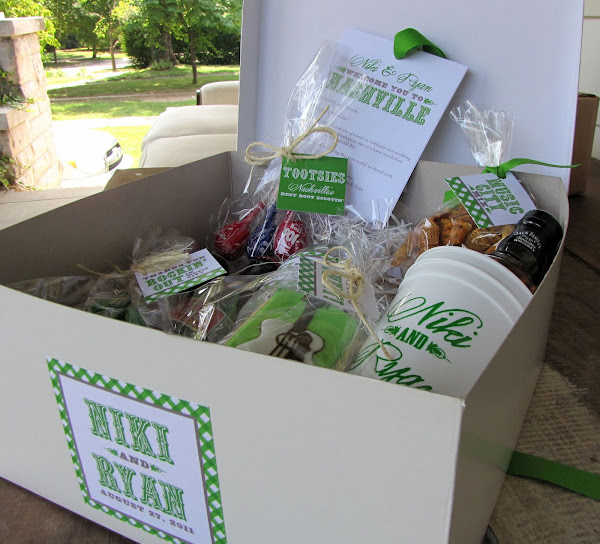 Gifts For Out Of Town Wedding Guests: Nico And LaLa: Custom Wedding Gifts, Swag, And Chicago