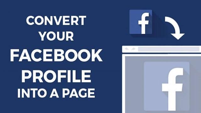 Your Facebook Profile Account Convert Into Facebook Page...!!  [Very Easy]