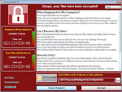 """wana decrypt0r 2 0 - Ransomware """"Wannacry"""": tutti i dettagli e le contromisure"""