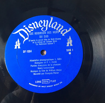 French Canadian Disneyland Record Swiss Family Robinson, Side 1