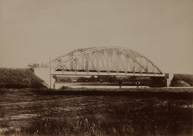 Juglas dzelzceļa tilts, 1889