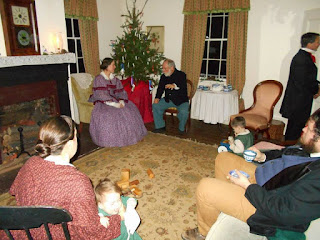 4th US Fort Steilacoom Christmas officers' family