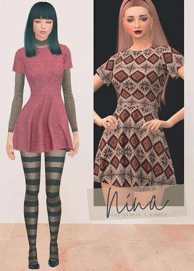 - ̗̀ Nina Dress ̖́- (TS4)