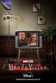 Disney+ Marvel Studios WandaVision劇集正式播出為MCU第四階段揭開序幕