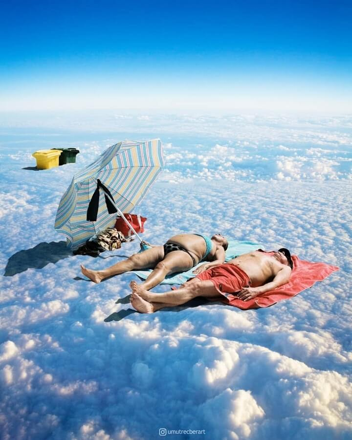 03-Sunbathing-on-clouds-Umut-Recber-www-designstack-co