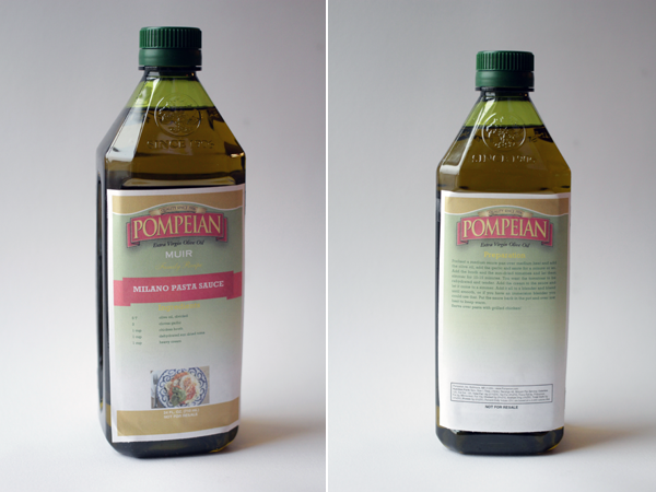 Pompeian Custom Label Maker