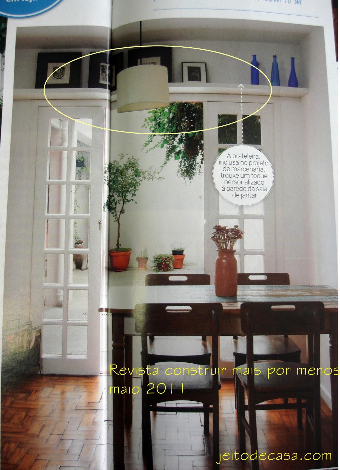 Ideias decorativas com prateleiras jeito de casa blog for Mamparas decorativas para casa