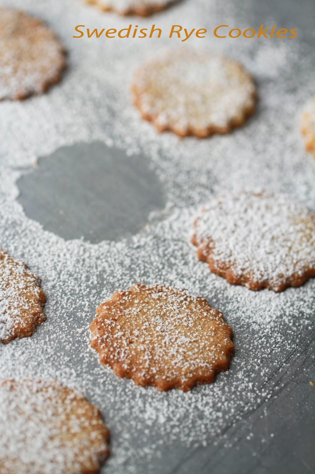 Flour.ish.en Test Kitchen: Swedish Rye Cookies - IHCC Sweet Treat's ...