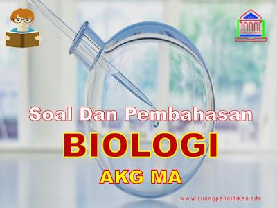 Soal AKG Kompetensi Pedagogik Biologi