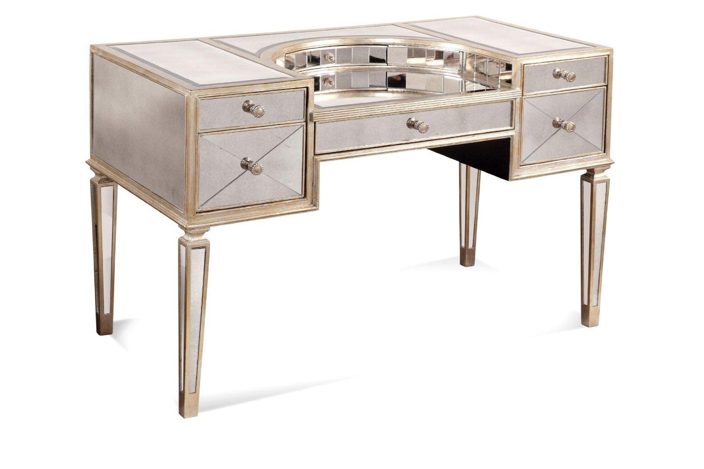 Pin Harlow-mirrored-desk-vanity on Pinterest